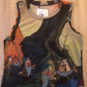 Snow White/Seven Dwarfs Tank Top